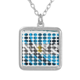 ARGENTINA FRAME DOTS PRODUCTS CUSTOM NECKLACE