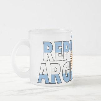 Argentina Frosted Mug