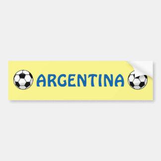 Argentina Futbol Soccer Bumper Sticker