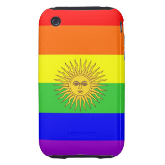 argentina gay proud rainbow flag homosexual tough iPhone 3 covers