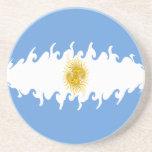 Argentina Gnarly Flag Coaster