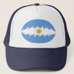 Argentina Gnarly Flag Hat
