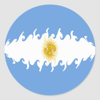 Argentina Gnarly Flag Sticker