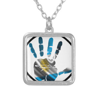 ARGENTINA HAND CIRCLE PRODUCTS PERSONALIZED NECKLACE