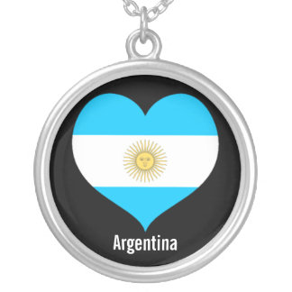 Argentina heart necklace
