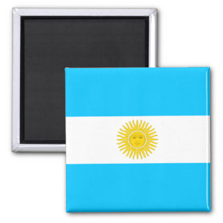 Argentina High quality Flag 2 Inch Square Magnet