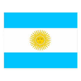 Argentina High quality Flag Post Cards