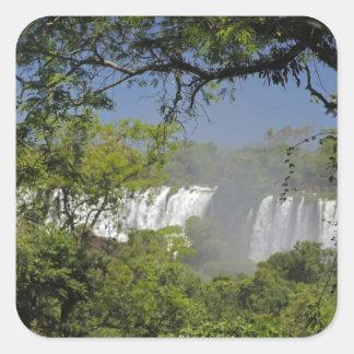 Argentina, Iguacu Falls in sun. 2 Sticker
