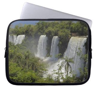 Argentina, Iguacu Falls in sun. Computer Sleeves