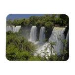 Argentina, Iguacu Falls in sun. Rectangular Magnet