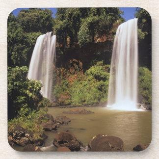 Argentina, Igwazu, Igwazu falls. Salto Dos Drink Coaster
