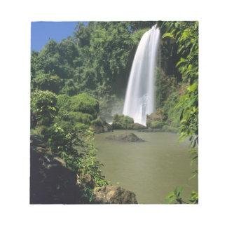 Argentina; Igwazu; Igwazu Falls. Salto Dos Note Pad