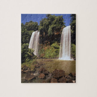Argentina, Igwazu, Igwazu falls. Salto Dos Puzzle