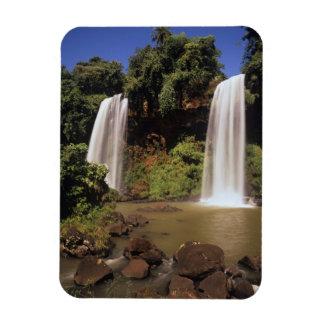 Argentina, Igwazu, Igwazu falls. Salto Dos Rectangular Photo Magnet