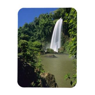 Argentina; Igwazu; Igwazu Falls. Salto Dos Rectangular Photo Magnet