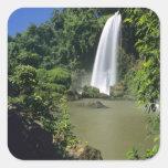 Argentina; Igwazu; Igwazu Falls. Salto Dos Square Sticker