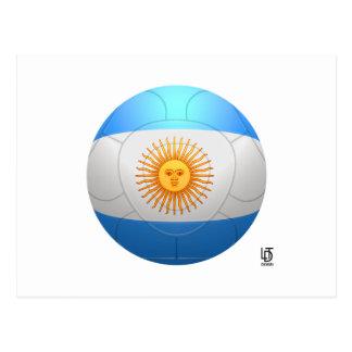 Argentina  - La Albiceleste Football Postcard