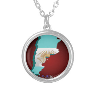 ARGENTINA MAP GIFTS CUSTOMIZABLE PRODUCTS PENDANTS