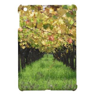 Argentina, Mendoza, Row Of Grape In Vineyard Cover For The iPad Mini