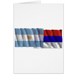 Argentina Misiones waving flags Cards