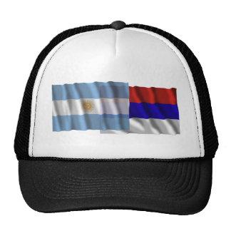 Argentina & Misiones waving flags Trucker Hat