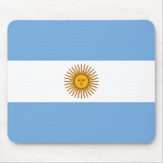 Argentina National Flag Mouse Pad
