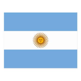 Argentina National Flag Postcard