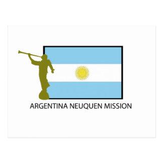 ARGENTINA NEUQUEN MISSION LDS POSTCARD