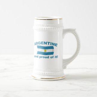 Argentina orgullosa taza