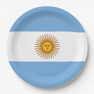 Argentina Paper Plates
