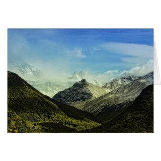 Argentina Parque Naciolnal Los Glaciares Card