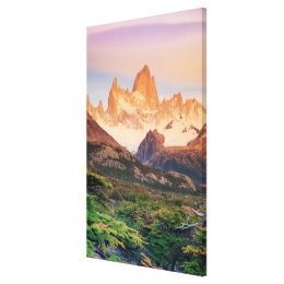 Argentina, Patagonia, Los Glaciares National Park Canvas Print