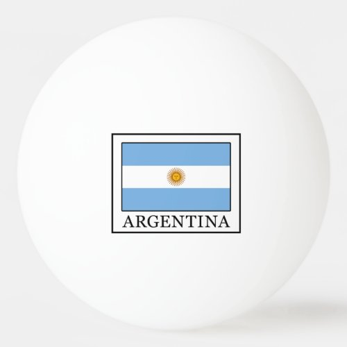 Argentina Ping_Pong Ball