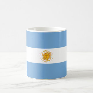 Argentina Plain Flag Coffee Mug