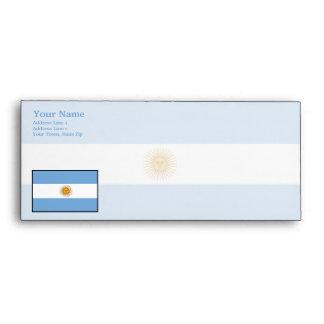 Argentina Plain Flag Envelope