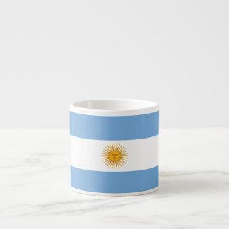 Argentina Plain Flag Espresso Cup