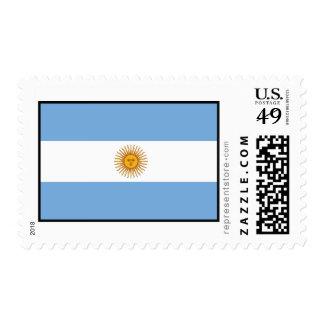 Argentina Plain Flag Stamp