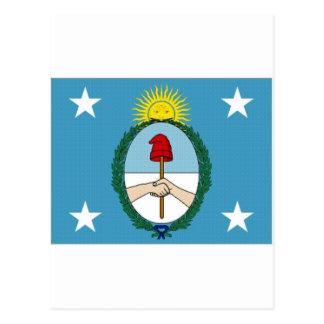 Argentina President Flag Postcard