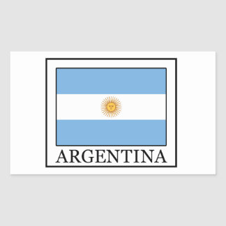 Argentina Rectangular Sticker