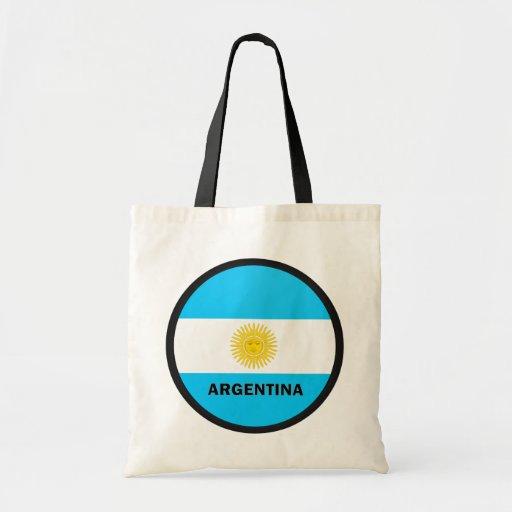 Argentina Roundel quality Flag Budget Tote Bag