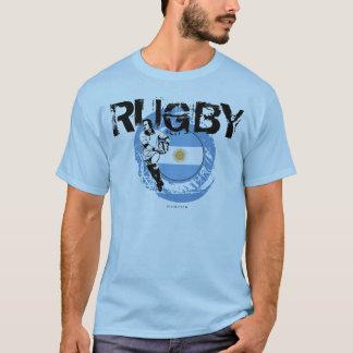 Argentina Rugby Fans T-Shirt Pass Ball