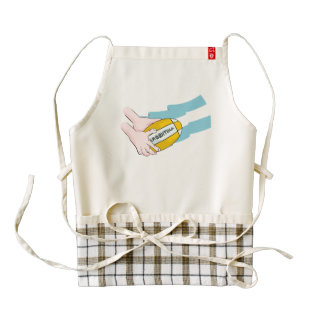 Argentina Rugby Team Supporters Flag With Ball Zazzle HEART Apron