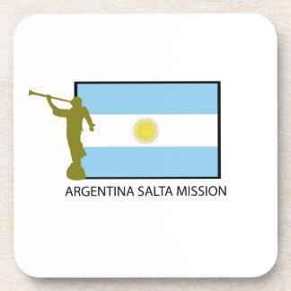 ARGENTINA SALTA MISSION LDS DRINK COASTER