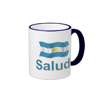 Argentina Salud Coffee Mugs