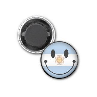 Argentina Smiley Magnet