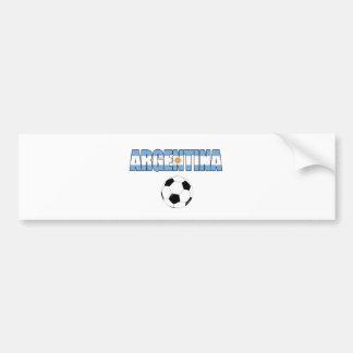 Argentina Soccer 0106 Bumper Sticker