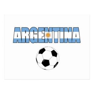 Argentina Soccer 0106 Postcard