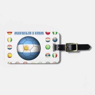 Argentina Soccer 0335 Bag Tag