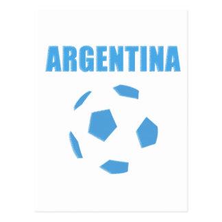 Argentina Soccer 0936 Postcard