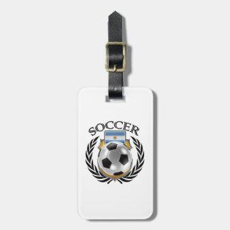 Argentina Soccer 2016 Fan Gear Bag Tag